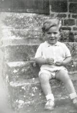 Gerv Franklin aged 3 in 1937