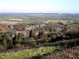 Village from Foxcote Hill
