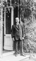 Rev WM Edge - Last rector to live at the Old Rectory, Mickleton Rd
