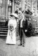 Helena Jackson & Thomas Mowbray Berkeley on their wedding day, Wednesday 12th June 1912