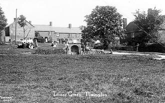Lower Green, Ilmington. 1900s