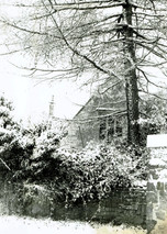 St Phillip's in the snow 1985