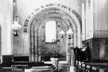 Organ at back of St Mary's church