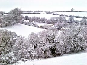 Winter Ilmington in Snow