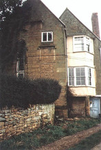 Exterior of part of Hill Farm house, Ilmington. 1987