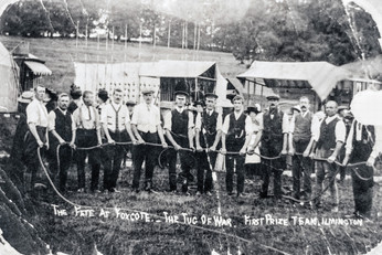 Foxcote Fete 1925(?) - Tug of war - 1st prize team, Ilmington