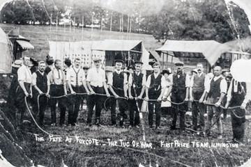 Foxcote Fete 1925(?) - Tug of war - 1st prize team, Ilmington