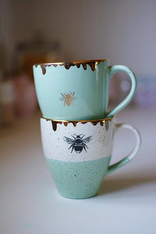 Gilded Honey Drip Mug