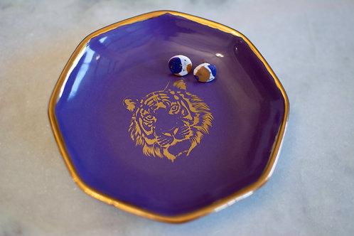 Tiger Jewelry Dish