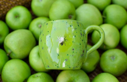 Green Apple Chub-bee Mug
