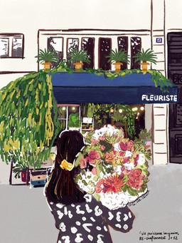 aller chez la fleuriste