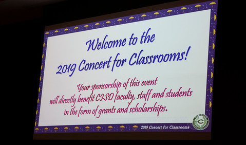 Concert for Classrooms 2019