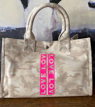 Quilted Koala Mini East/West Bag