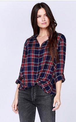 Bobi Twist Front Flannel