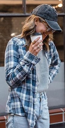 Vintage wash flannel