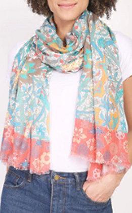 Vismaya multi colored scarf