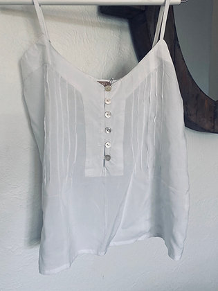 Khush button down cami
