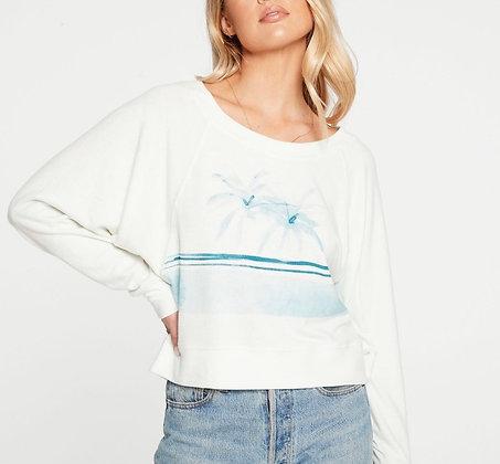 Chaser double palm sweatshirt