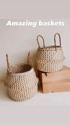 Large home baskets