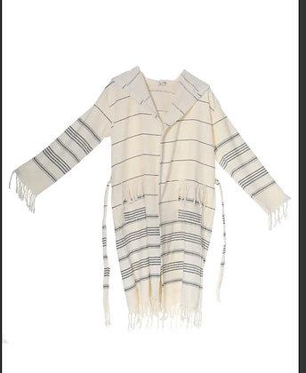 Peshtemal Ultra Soft Natural Color Robe/jacket