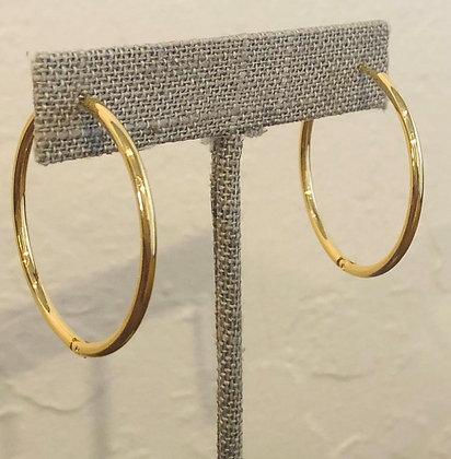 Tai Gold Hoop Earrings