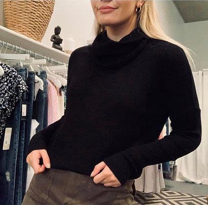 Bobi L/S Cowlneck Sweater