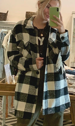 RDStyle Woven Plaid Jacket