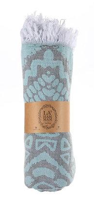 Aztec Peshtemal Pure Cotton Beach Towel