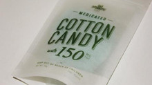 And now under the big top! Medicated Cotton Candy is so good!
