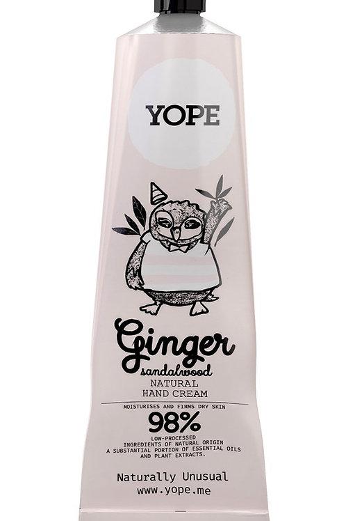 YOPE - Hand Cream Ginger & Sandalwood / YOPE 薑丶檀香護手霜
