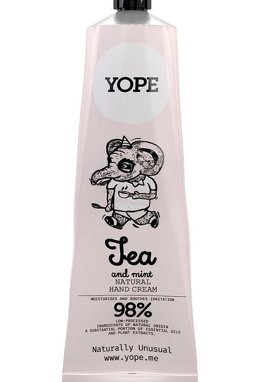 YOPE Hand Cream Tea & Peppermint / YOPE 茶丶薄荷香護手霜