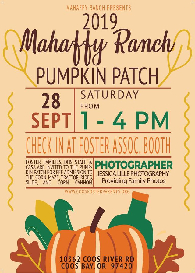 Mahaffy  Ranch Pumpkin Patch 2019