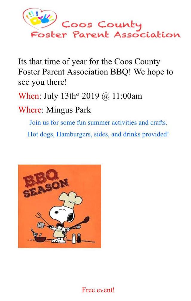Foster Parent Association Barbecue!