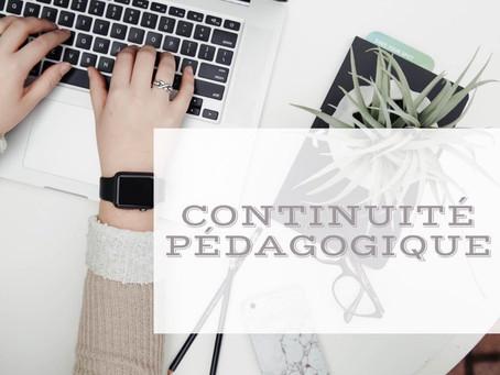 Continuité pédagogique et retour à l'école