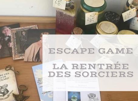 Escape Game - La rentrée des sorciers