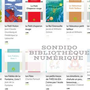 SONDiDO - Une bibliothèque numérique inclusive