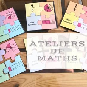 Ateliers de maths