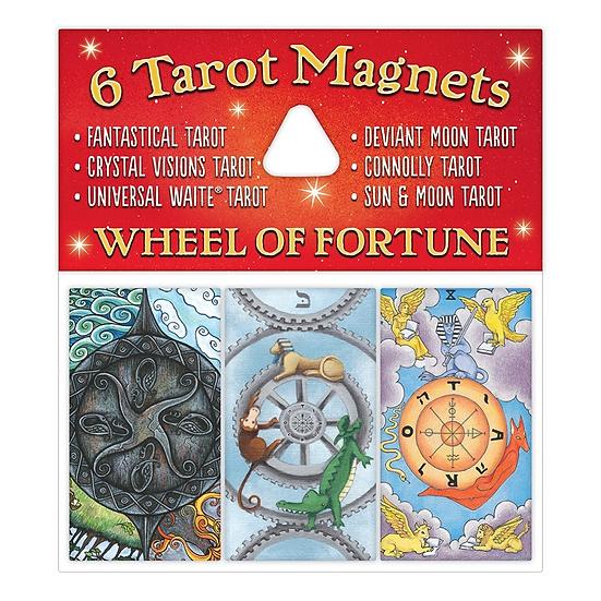 Wheel of Fortune Magnet Set