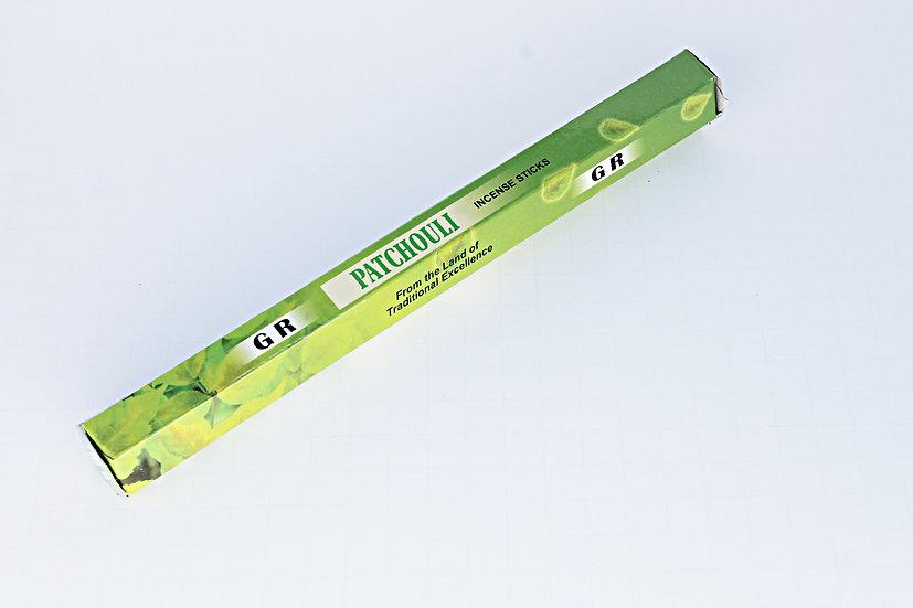GR Incense Sticks Hexa Patchouli