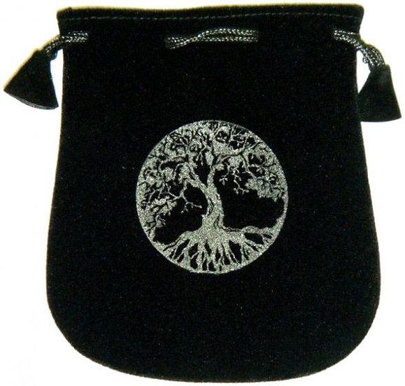 Velvet Pouch: Tree of Life