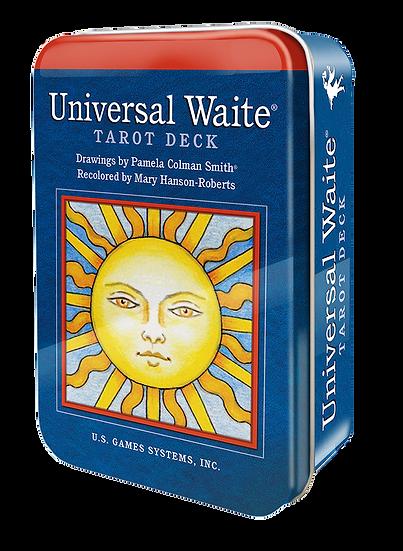 Universal Waite® Tarot Deck in a Tin