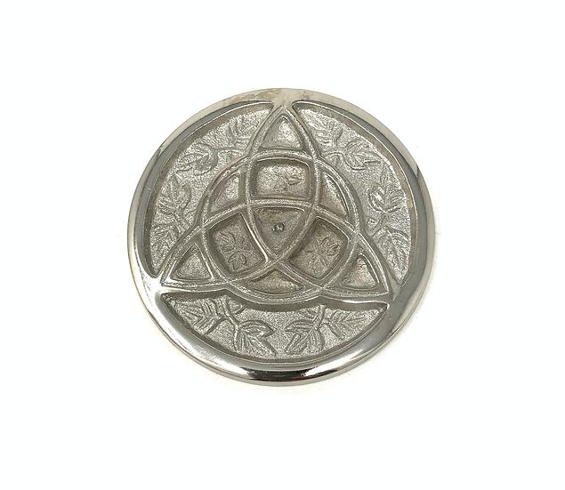 Aluminum Altar Plate Triquetra