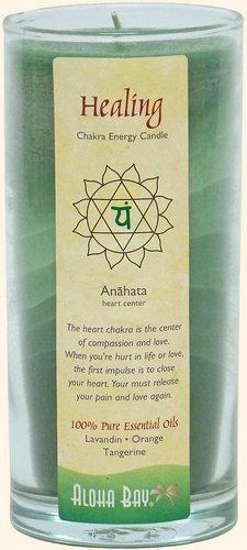 Aloha Bay Chakra Jar Candle - Healing