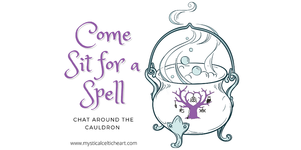 Come Sit for a Spell: Chat Around The Cauldron