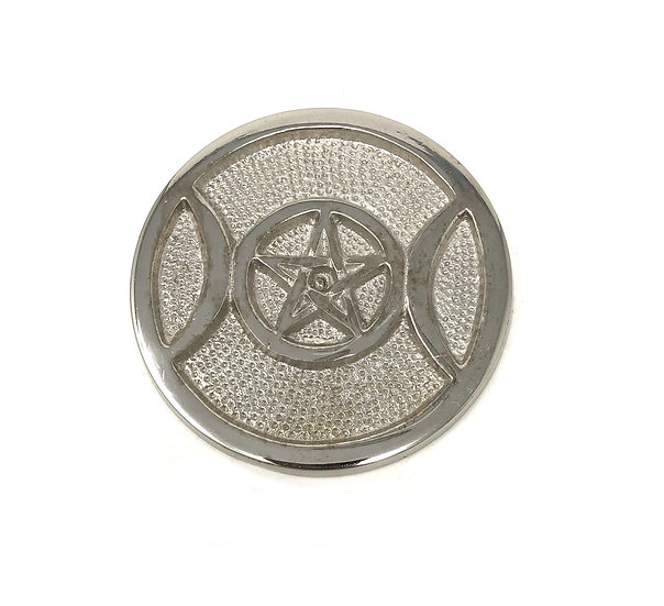 Aluminum Altar Plate (Triple Moon)