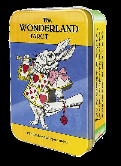 The Wonderland Tarot in a Tin