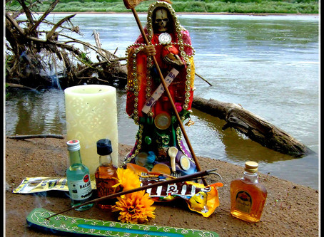 Santa Muerte is the Saint of Death By Tracey Rollin