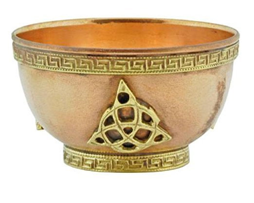 Copper Offering Bowl (Triquetra)