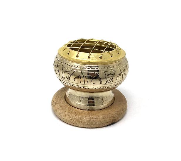 Brass Charcoal Burner