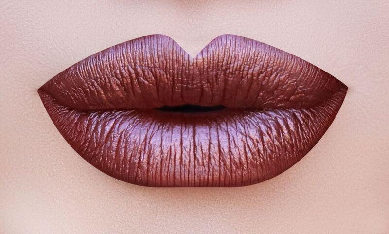 M10 METALLIC LONG WEAR MATTE LIP GLOSS - COFFEE CAKE